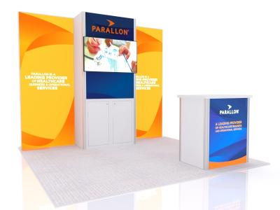 10' Gravitee Rental Tradeshow Displays