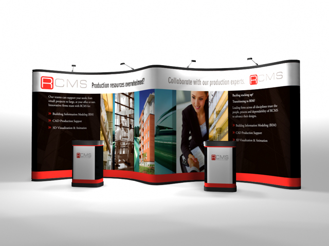 20 Ft Premium Pop Up Displays | Pop Up Display