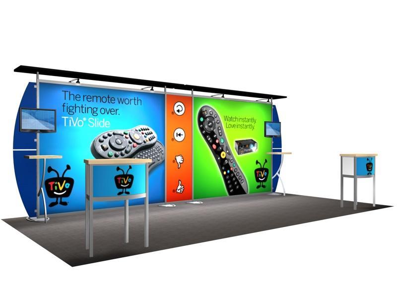 Custom Modular Hybrid Displays | Sacagawea Replacement Graphics