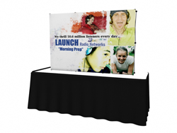 Trade Show Displays | VBurst Flat Wall Replacement Graphics