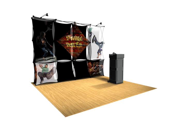 Xpressions Sheer 4x3 Pop Up Displays | Trade Show Displays