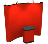 8 Ft Premium Pop Up Display | Trade Show Displays
