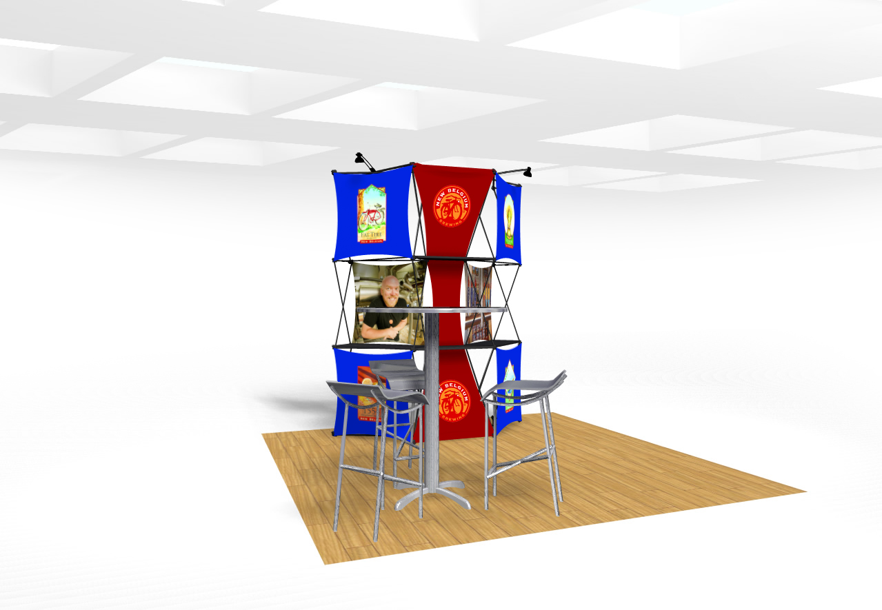 Xpressions Connex 10x10 Pop Up Displays | Trade Show Displays