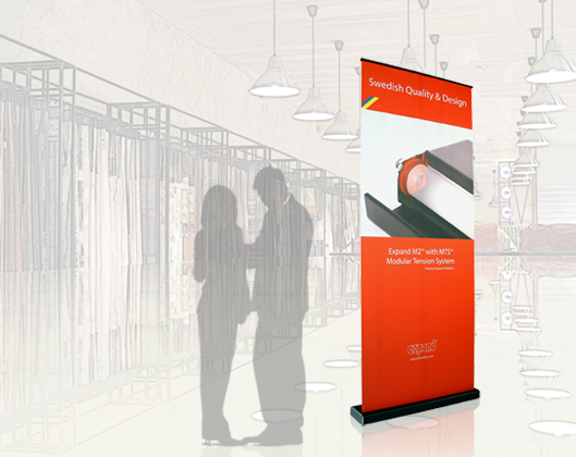 M2 Retractable Banner Stand | Banner Stands