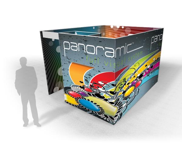 Panoramic Rooms | Trade Show Displays