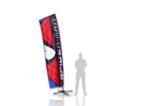 Outdoor Banner Displays | Skyblade Outdoor Banner