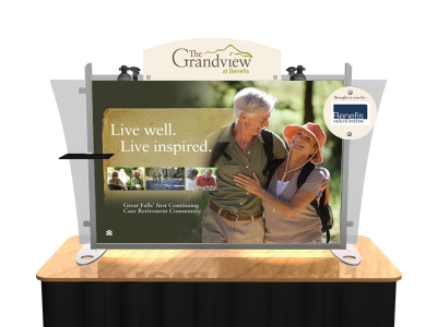 Table Top Displays | Trade Show Displays by ShopForExhibits