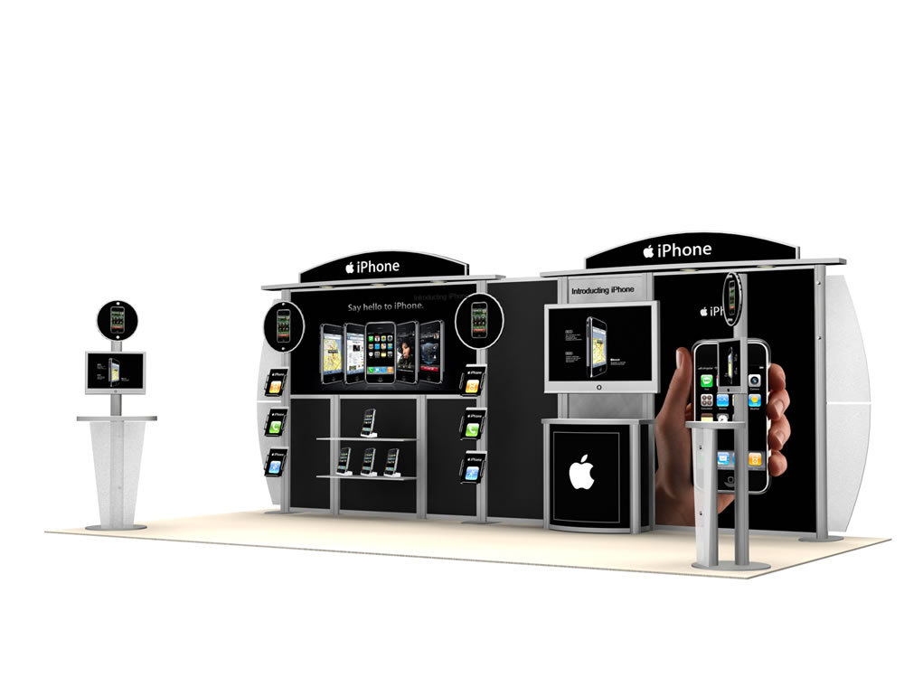 20 Ft Visions | Trade Show Displays