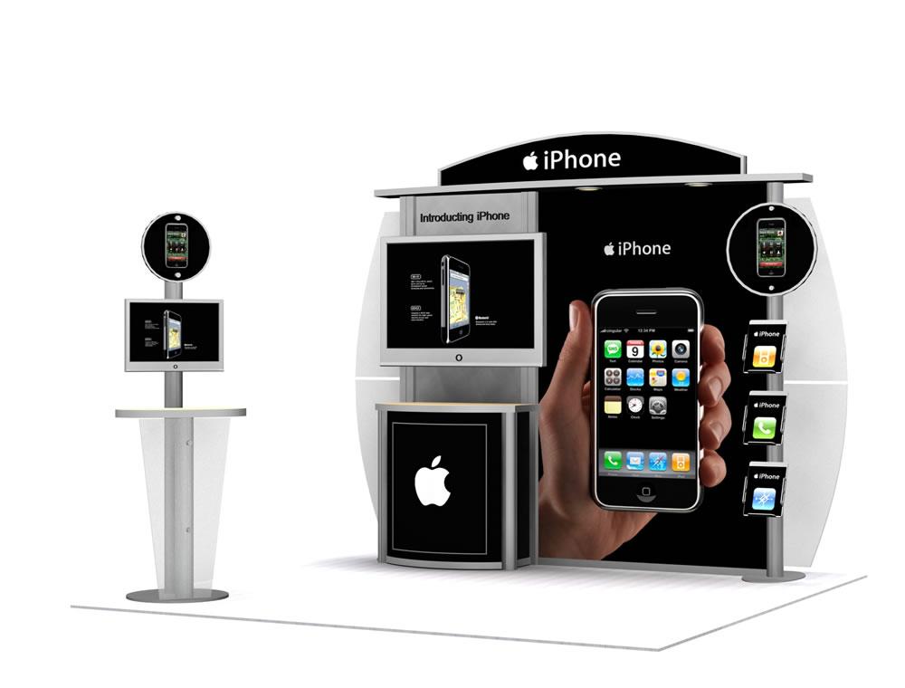 Visions10 & 20 Foot Display  Trade Show Displays by ShopForExhibits