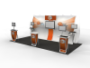 Perfect 10 Hybrid Displays | Trade Show Exhibits