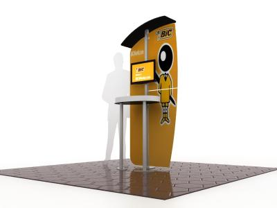 MOD-1524 Workstation | Trade Show Displays