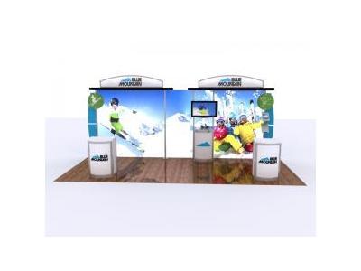 Custom Modular Hybrid Displays   Segue Inline Lightbox