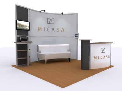 VK-2924 20 Ft Visionary Designs  | Trade Show Displays