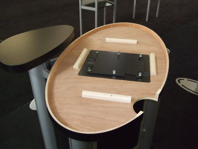 MOD-211 iPad Insert Accessory | Counters, Pedestals, Kiosks, & Workstations