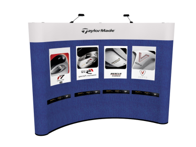 10 Foot Graphic Package 2   Trade Show Display Graphics