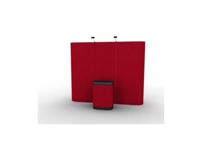 10 Ft Kit 1 Straight Frame Pop Up Displays | Pop Up Display