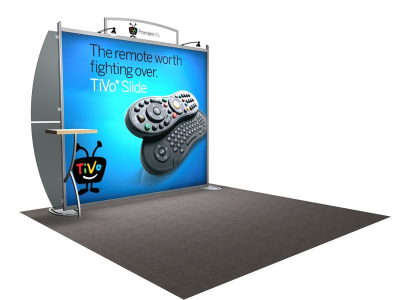 VK-1205 Sacagawea Tension Fabric Displays | Trade Show Displays