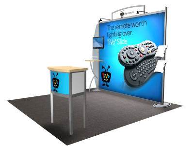 VK-1211 Sacagawea Tension Fabric Displays | Trade Show Displays