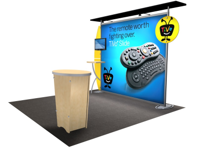 VK-1212 Sacagawea Tension Fabric Displays | Trade Show Displays