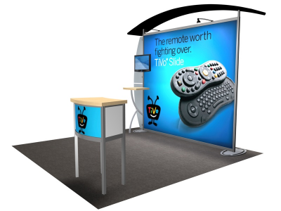 VK-1214 Sacagawea Tension Fabric Displays | Trade Show Displays
