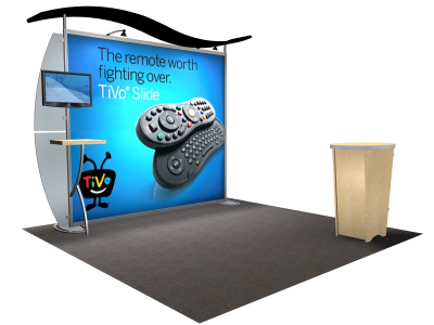 VK-1217 Sacagawea Tension Fabric Displays | Trade Show Displays