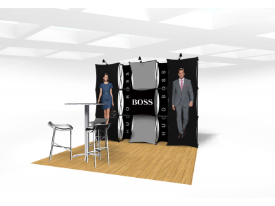 Xpressions Connex 10x10 Pop Up Displays Kit D | Trade Show Displays