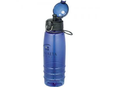 Promotional Giveaway Drinkware | Marathon BPA Free Sport Bottle 22oz Blue