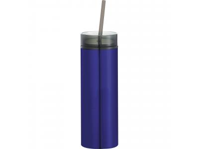 Promotional Giveaway Drinkware   Hot & Cold Skinny Stainless Tumbler