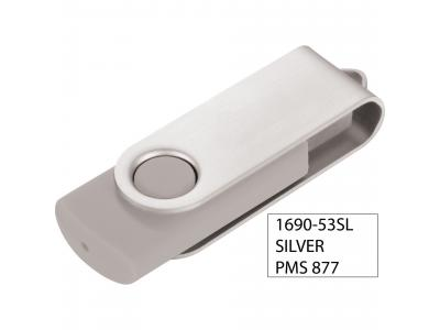 Promotional Giveaway Technology | Rotate Flashdrive 8GB Silver