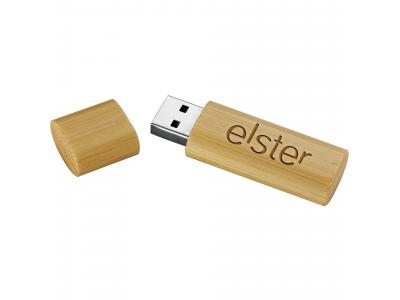 Promotional Giveaway Technology | Bamboo USB Flash Drive 2GB