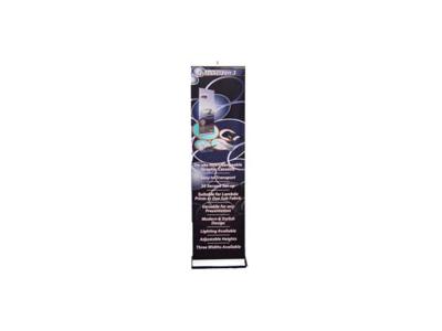 Quickscreen 3 - 19.7 in Retractable Banner Stands | Banner Stands