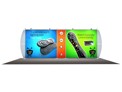 VK-2101 Sacagawea Tension Fabric Displays | Trade Show Displays