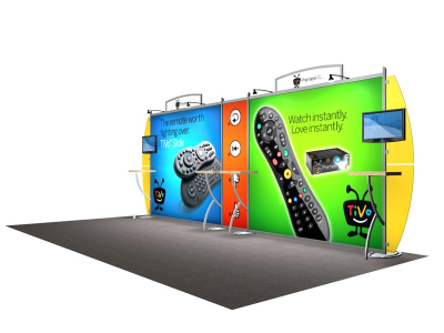 VK-2103 Sacagawea Tension Fabric Displays | Trade Show Displays