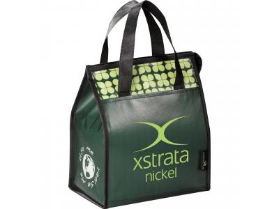 Promotional Giveaway Bags | Laminated Non-Woven Lunch Bag Hunter Green
