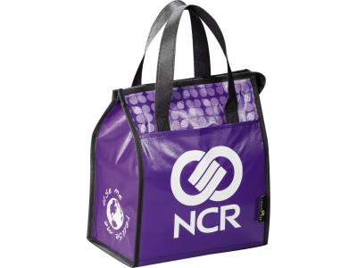 Promotional Giveaway Bags | Laminated Non-Woven Lunch Bag Purple