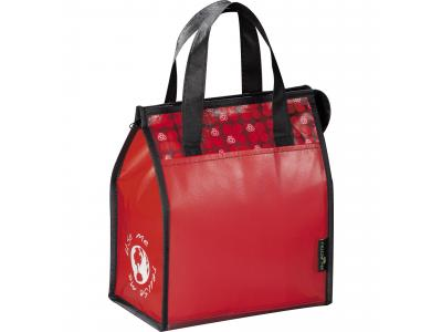 Promotional Giveaway Bags | Laminated Non-Woven Lunch Bag Red
