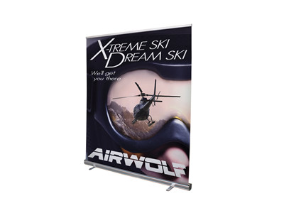6' Jumbo Wide Retractor Kit | Jumbo Wide Retractable Banner Stand