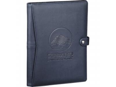 Promotional Giveaway Office | Pedova ETech Journalbook Navy