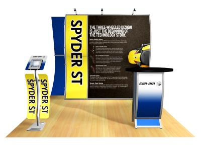VK-1518- Perfect 10 Trade Show Displays