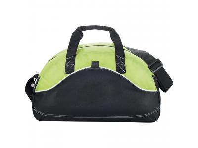 "Promotional Giveaway Bags | Boomerang 18"" Sport Duffel Lime"