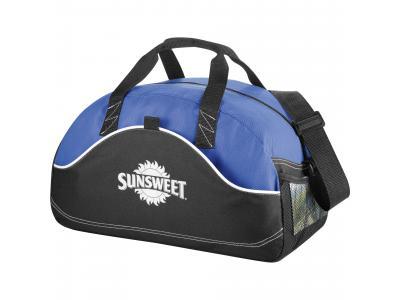 "Promotional Giveaway Bags | Boomerang 18"" Sport Duffel Royal"