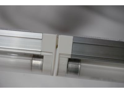 Pop up Displays | VBurst 8' Kit Curved BACKLIT Light 5