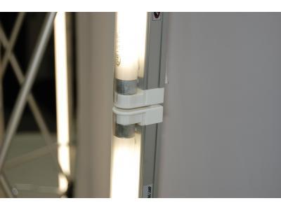 Pop up Displays | VBurst 8' Kit Curved BACKLIT Light 1