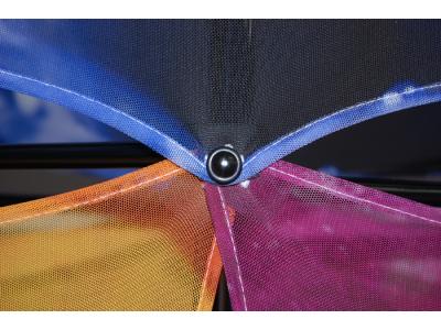 Xpressions Sheer 1x3 Pop Up Displays Kit A | Trade Show Displays