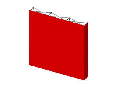Pop Up Trade Show Display | Self Locking VBurst Replacement Graphic 3x3 Endcaps