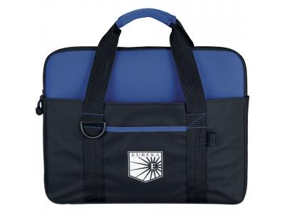 Promotional Giveaway Bags | Tuck Compu-Brief With Laptop Sleeve