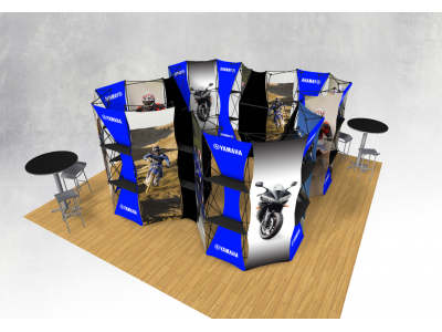 Xpressions Connex 20x20 Pop Up Displays Kit B | Trade Show Displays