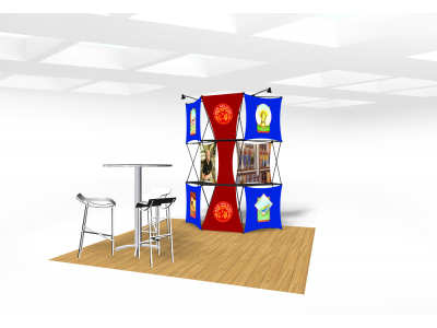Xpressions Connex 10x10 Pop Up Displays Kit B | Trade Show Displays