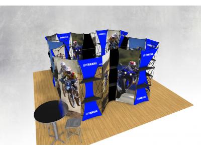 Xpressions Connex 20x20 Pop Up Displays Kit B | Trade Show Displays