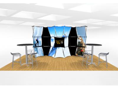 Xpressions Connex 10x20 Pop Up Displays Kit D | Trade Show Displays